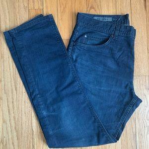 GAP dark skinny jeans dark denim size 34x32